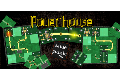 Android - Powerhouse - A circuit styled slide puzzle game ...