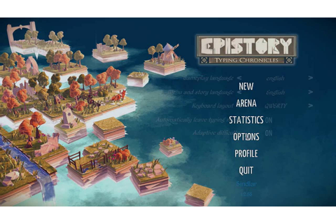 Epistory - Typing Chronicles PC Gameplay - RPG Typing Game ...