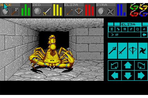 My all time favourite video games: Dungeon Master - Atari ...