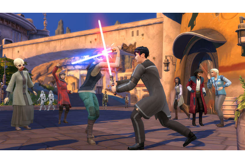 The Sims 4 Journey to Batuu Announced - ISK Mogul Adventures