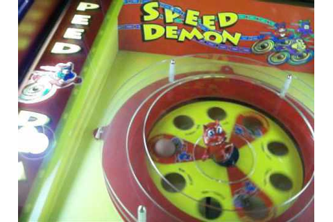 Speed Demon arcade game jackpot win on medium mode - YouTube