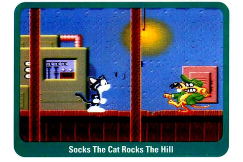 Socks the Cat Rocks the Hill: the Cancelled Video Game