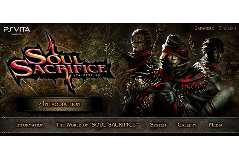 Soul Sacrifice for Play Station Vita – All In One News