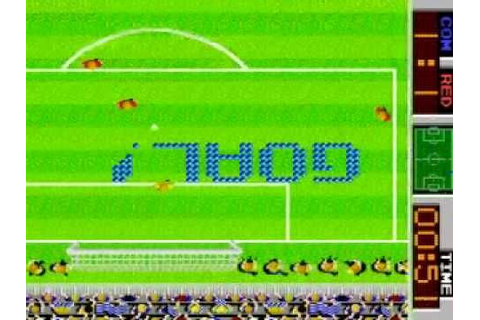 Tehkan World Cup part 2 - mame classic arcade - soccer ...