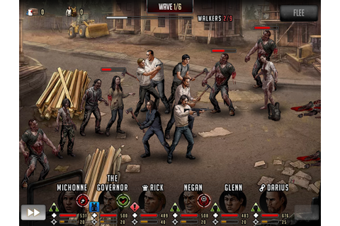 dead road to survival is the definitive walking dead strategy rpg game ...