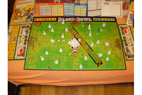Lee, Juega, APRENDE: Blood Bowl