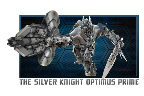 Silver Knight Optimus Prime Joins Transformers: Age Of ...