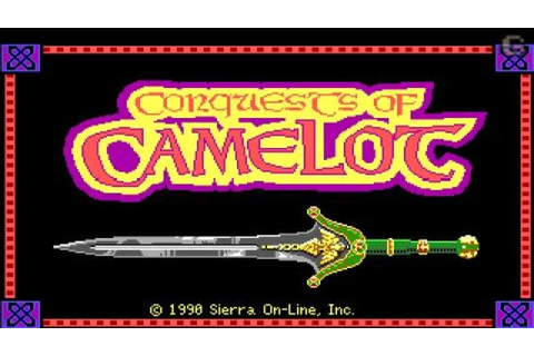 Conquests of Camelot gameplay (PC Game, 1990) - YouTube