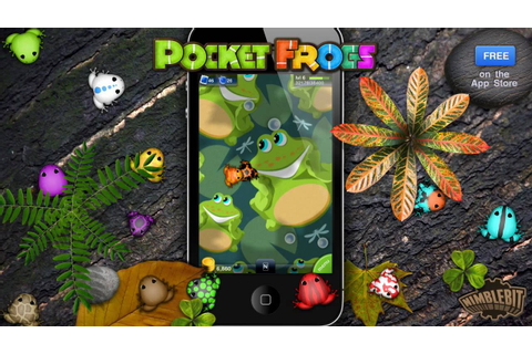 Pocket Frogs, a free game for iPhone, iPad and iPod Touch ...