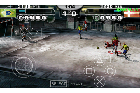 PC GAMES BEST: FIFA STREET 2 PSP FOR ANDROID GAMES