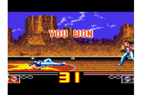 Fatal Fury Special Game Sample - Game Gear - YouTube