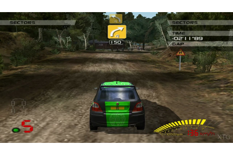 V-Rally 3 PS2 Gameplay HD (PCSX2) - YouTube