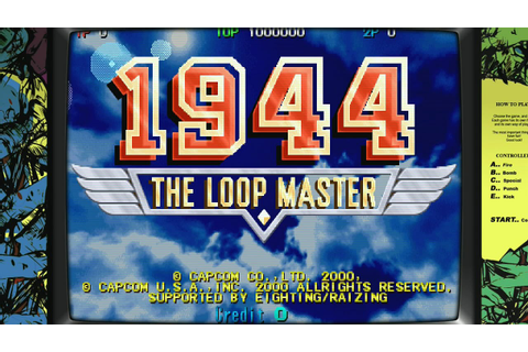 1944: The Loop Master [Arcade][HD-Gameplay 60 FPS] - YouTube