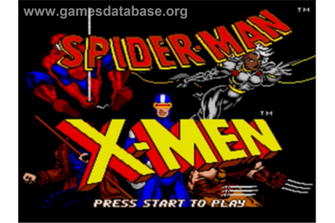 Spider-Man and the X-Men: Arcade's Revenge - Sega Genesis ...