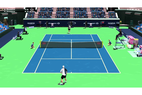 Dream Match Tennis Pro - Online Match - YouTube