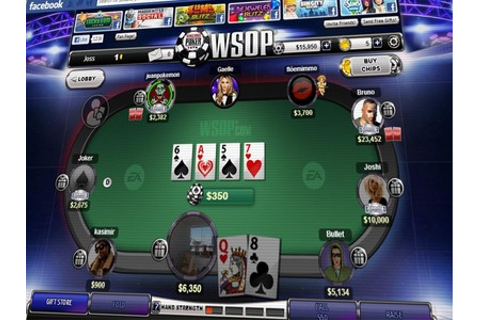 "EA Launches Free Play ""World Series of Poker"" App on Facebook"
