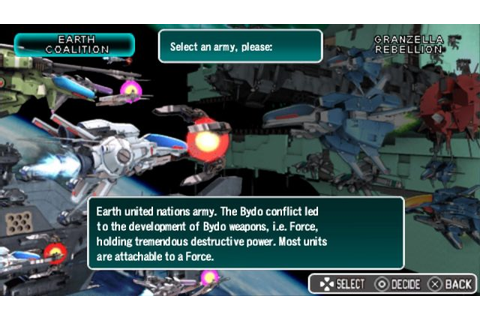 R-Type Tactics II (English Patched) PSP ISO - CDRomance