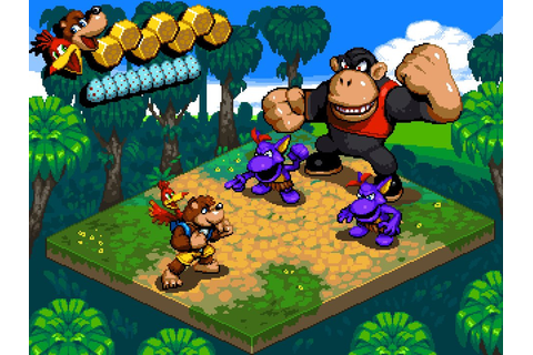Art: Banjo-Kazooie Reimagined in the Mario RPG Style ...