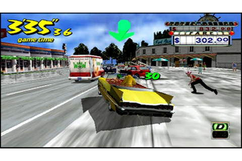 Crazy Taxi - Fare Wars Español PSP ~ Gamer San
