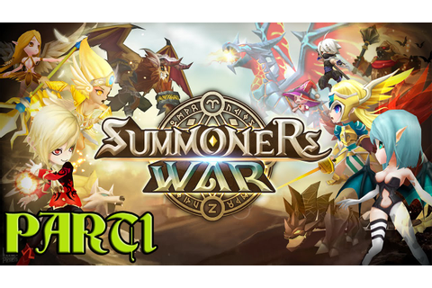 Summoners War HD Gameplay Part 1 (iOS/Android) 3D RPG ...