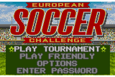 European Soccer Challenge Details - LaunchBox Games Database