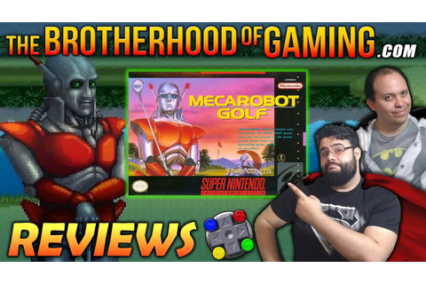 MECAROBOT GOLF Review // The Brotherhood of Gaming - YouTube