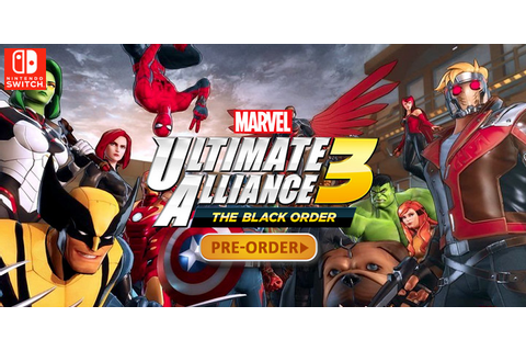 Defeat Thanos Here in Marvel Ultimate Alliance 3: The ...