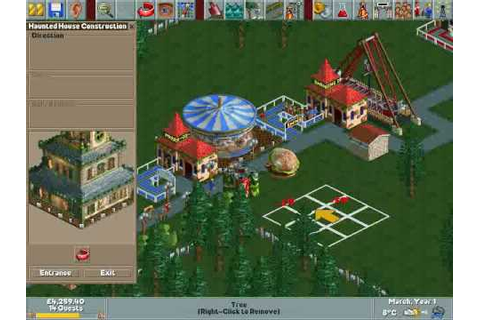 Roller Coaster Tycoon: Loopy Landscapes Gameplay - YouTube