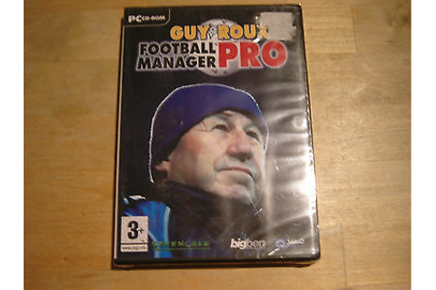pc cd-rom guy roux football manager pro | eBay