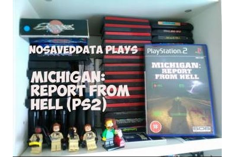 More obscure games: Michigan report from hell PS2 gameplay ...