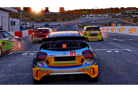 Project CARS 2 - Gameplay Mercedes AMG A45 @ Lankebanen ...
