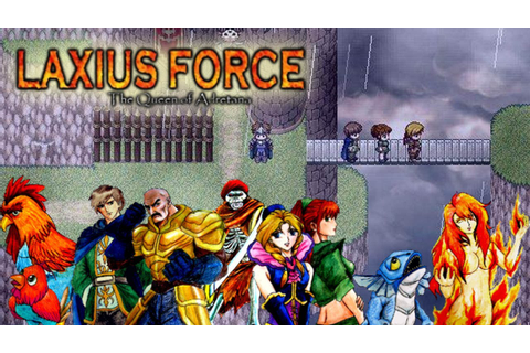 Laxius Force II - Gameplay Trailer - YouTube