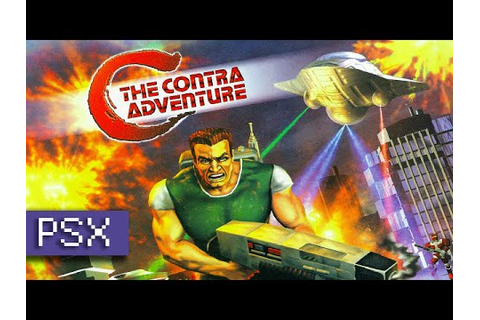C: The Contra Adventure - PSX - YouTube