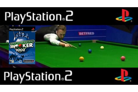 Ps2 Classics - World Championship Snooker 2002 - YouTube