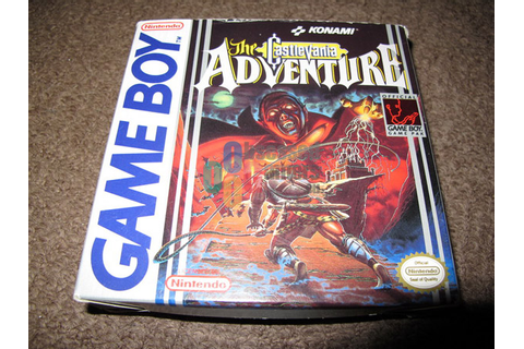 The Castlevania Adventure - Nintendo: Game Boy ...