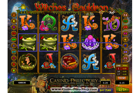 Witches Cauldron Slot Review - Play Witches Cauldron Slots ...