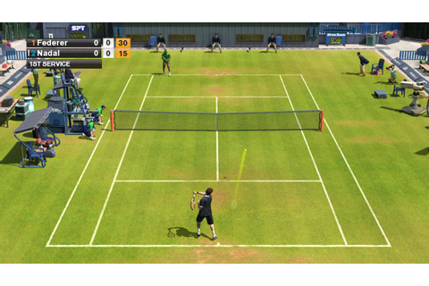 Virtua Tennis 2009 - Forum Virtua Tennis 2009 [page 1]