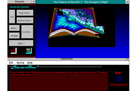 The Palace of Deceit – The Dragon's Plight (1992 - Windows ...