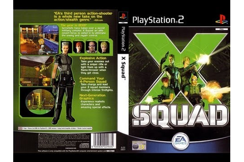 PS2 X Squad (HD) (PCSX2) (60 fps) - YouTube