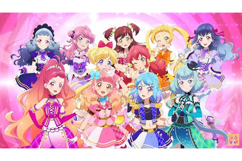 Crunchyroll - Meet New Idols in TV Anime Aikatsu Friends ...