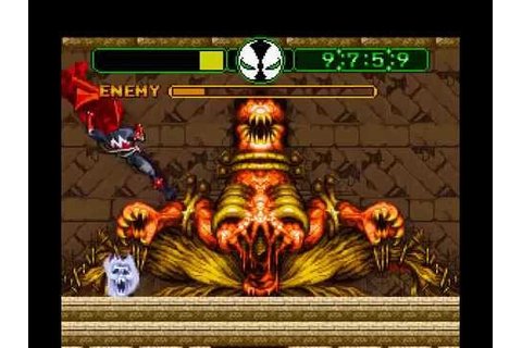 SNES Longplay [187] Todd McFarlane's Spawn: The Video Game ...