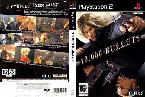 10.000 Bullets - Playstation 2 - Paty Games. - R$ 20,00 em ...