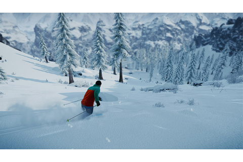 Skiing/snowboarding PC game SNOW sounds terrific