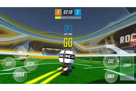 Rocket Ball Championship Cup - Gameplay (Android) - YouTube