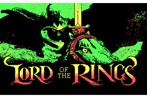 Lord of the Rings - Game One (1986) by Beam Software MS ...