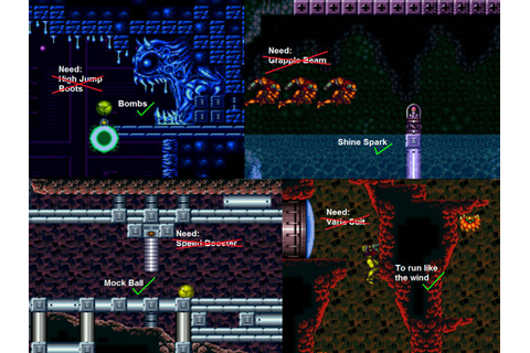 Game Design Blog: 20 Reasons why Super Metroid is the Best ...