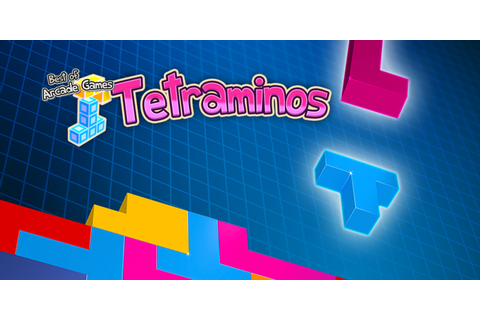Best of Arcade Games – Tetraminos | Nintendo 3DS download ...