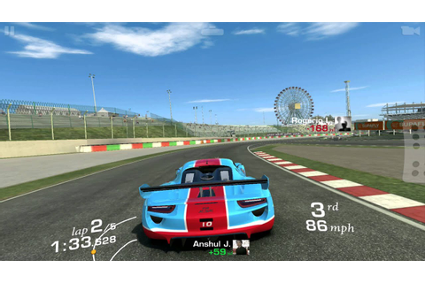 Real Racing 3: -The best paying races in the game. Race 1 ...