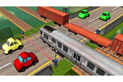 Cars and Local Trains - Railroad Crossing | Android Game ...