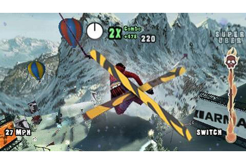 SSX™ on Tour Game | PSP - PlayStation